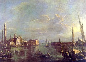 F. Guardi - Venice The Isle of Saint George